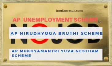 AP unemployment scheme | Nirudhyoga Bruthi Scheme | Mukhyamantri Yuva nestham Scheme