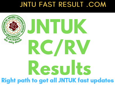 JNTUK B.Tech 2-2 RC/RV Results 2019: