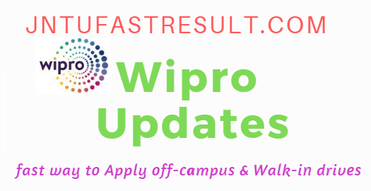 Wipro Off-campus drive for Degree Graduates