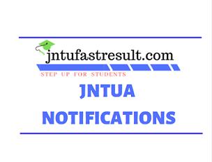 JNTUA PC & CMM Notification 2019