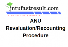 ANU Revaluation Application Form