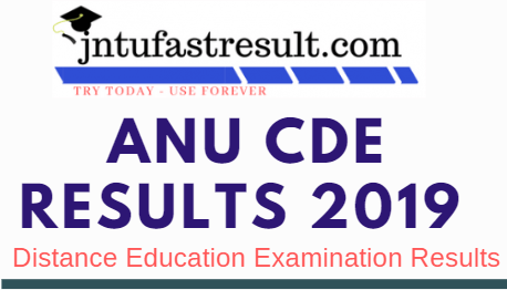 ANU Distance Education Results 2019