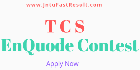 TCS EnQuode Contest 2019