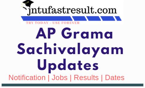AP Grama Sachivalayam Syllabus & Selection Process & Exam