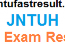 jntuh mba exam results
