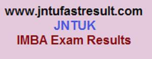 jntuk imba exam results