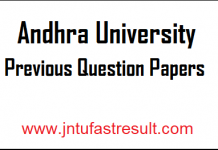 Andhra-University-Previous-Question Papers