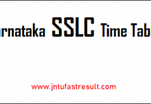 Karnataka-SSLC-Time-Table
